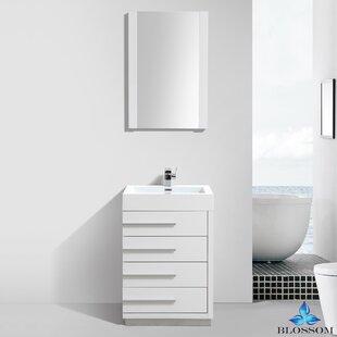 Best Reviews Manders 30 Single Bathroom Vanity Set with Mirror ByOrren Ellis