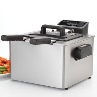 4 Liter Stainless Steel Smart Fry XL™ Digital Deep Fryer