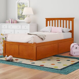 Comparison Georgia Slat Bed with Drawers by Viv + Rae Reviews (2019) & Buyer's Guide