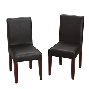 Damico Children's Faux Leather Chair (Set of 2) by Zoomie Kids