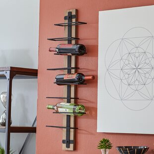 mounted wall bella mount home ro shop mirrors wine decor rustic rack