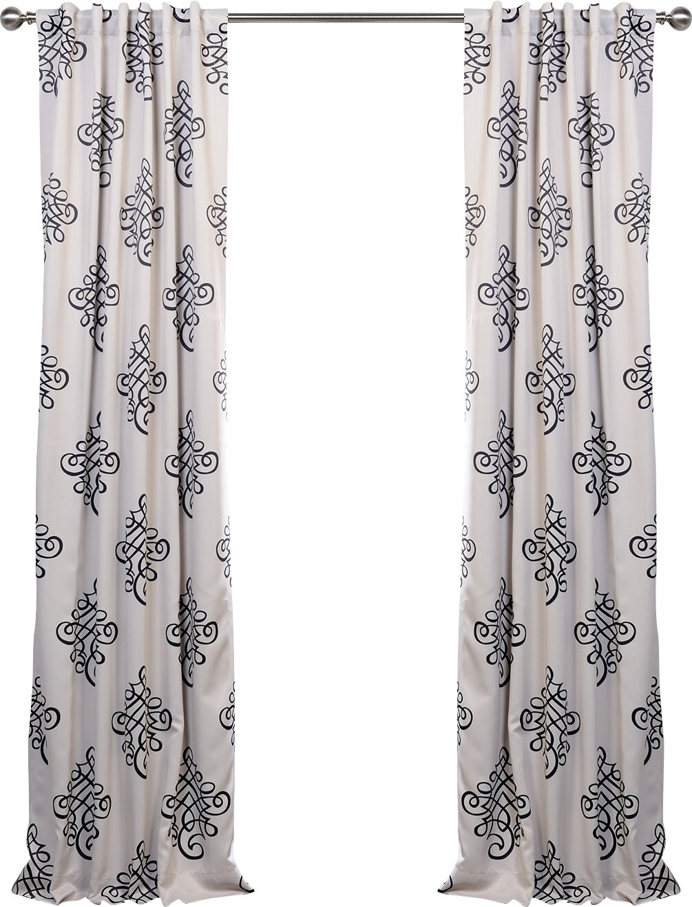 htm aleko x solid in curtain blackout p insulated inches thermal ap curtains