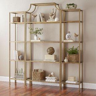 Aimee Etagere Bookcase