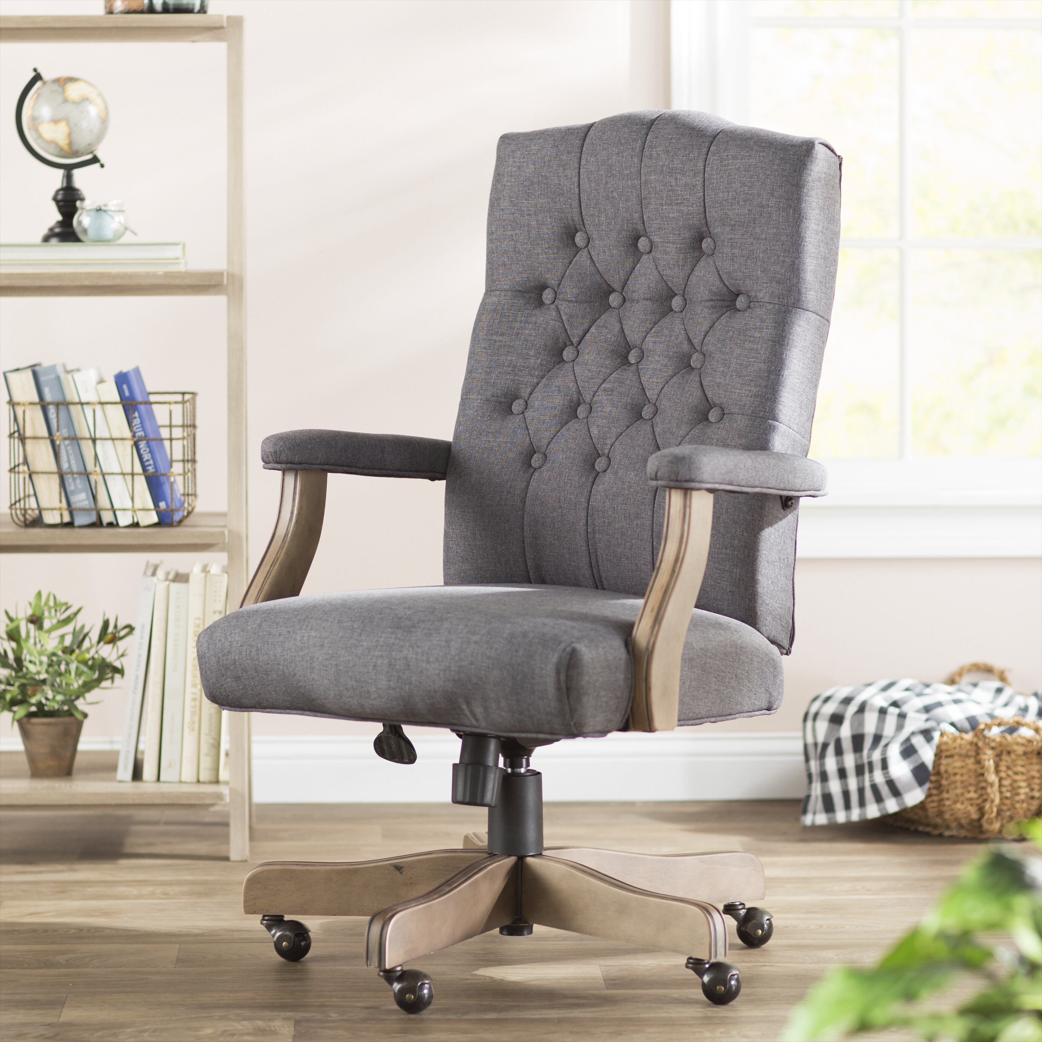 Fixed Arms Office Chairs You Ll Love In 2020 Wayfair