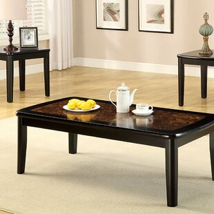 Fleur De Lis Living Crutcher 3 Piece Coffee Table Set