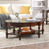 Yair 6 Legs Coffee Table with Storage by Canora Grey