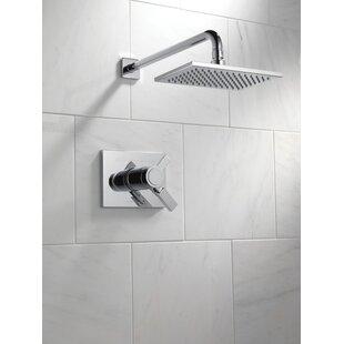 Delta 17T Series Shower Faucet Trim with Lever Handles and TempAssure