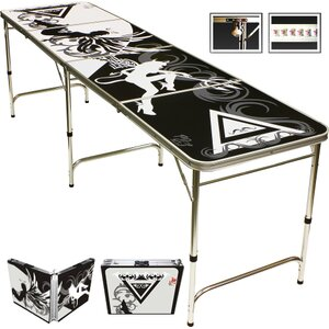Sexy Beer Pong Table in Standard Aluminum