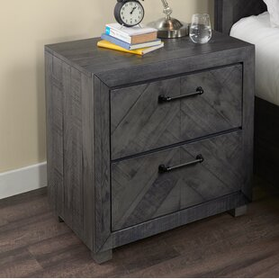 Diane 2 Drawer Nightstand by Gracie Oaks