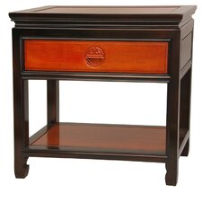 1 Drawer Nightstand by Oriental Furniture