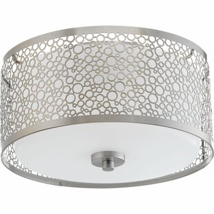 Latitude Run Komal 1-Light Flush Mount