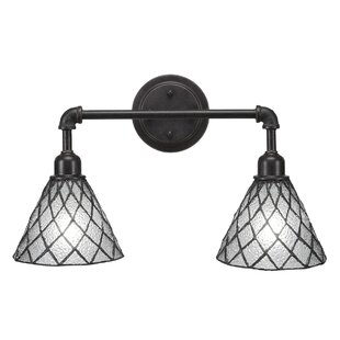Charlton Home Sanni Vintage 2-Light Vanity Light