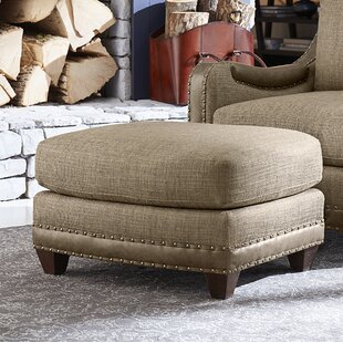 Sylvestre Ottoman by Darby Home Co