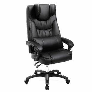 Affordable Ethen Ergonomic Executive Chair by Rebrilliant