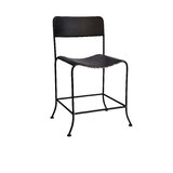 Brees Metal Dining Chair in Black (Set of 2) by Williston Forge
