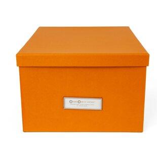 Gustav Media Wood Box By Bigso
