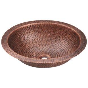 Savings Metal Oval Undermount Bathroom Sink ByMR Direct