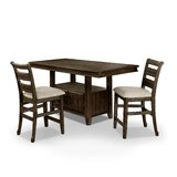 Rohan 3 - Piece Counter Height Dining Set by Gracie Oaks