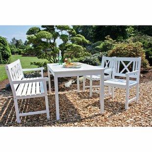 Gartenessgruppen Aus Holz Farbe Weiß Zum Verlieben Wayfairde