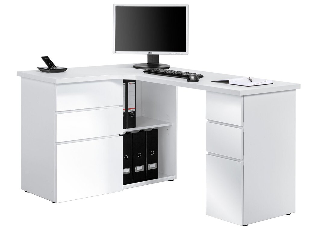 MajaMbel Office Corner Desk Reviews Wayfaircouk