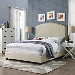 Benedict Curved Upholstered Panel Bed