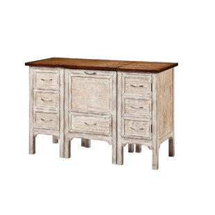 Milford 3 Drawer Combo Dresser with Mirror by One Allium Way