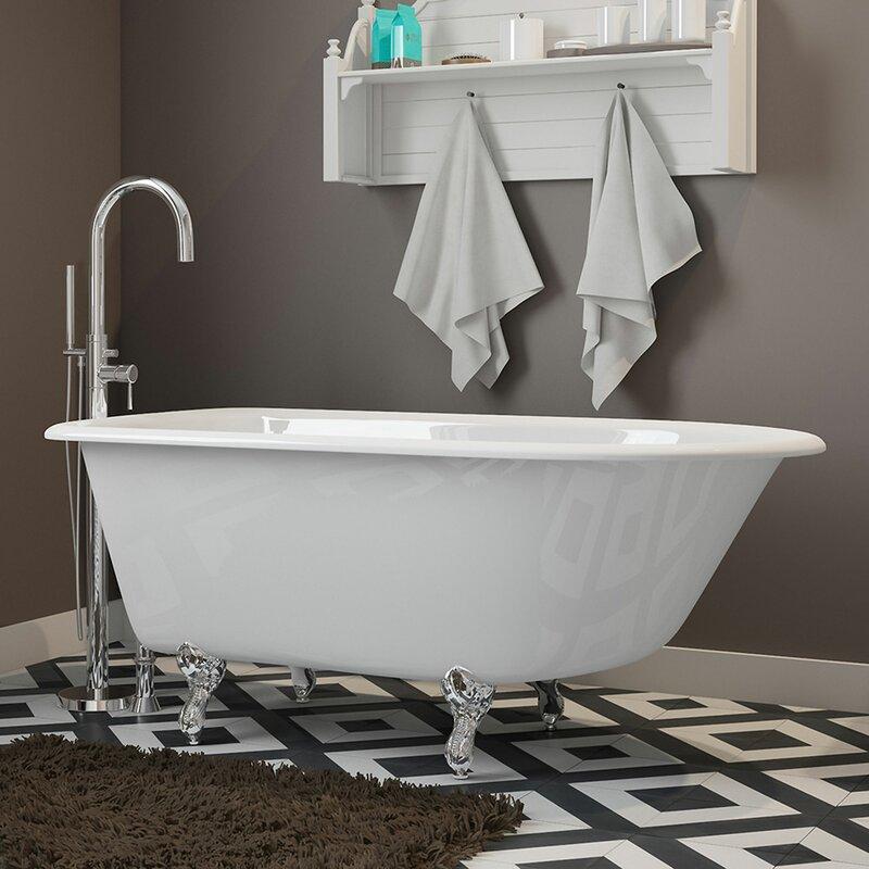 55 X 30 Clawfoot Bathtub In
