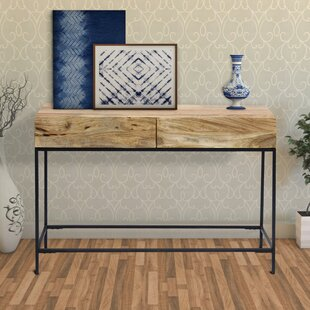 Novello 30 Solid Wood Console Table