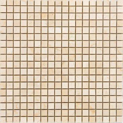 063 x 063 Marble Mosaic Tile Epoch Color Crema