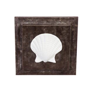 Seashell Icon Metal Wall Décor