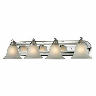 Charlton Home Joelle 4-Light LED Vanity Light