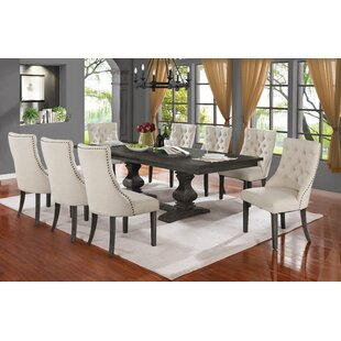 Ruger 9 Piece Extendable Dining Set