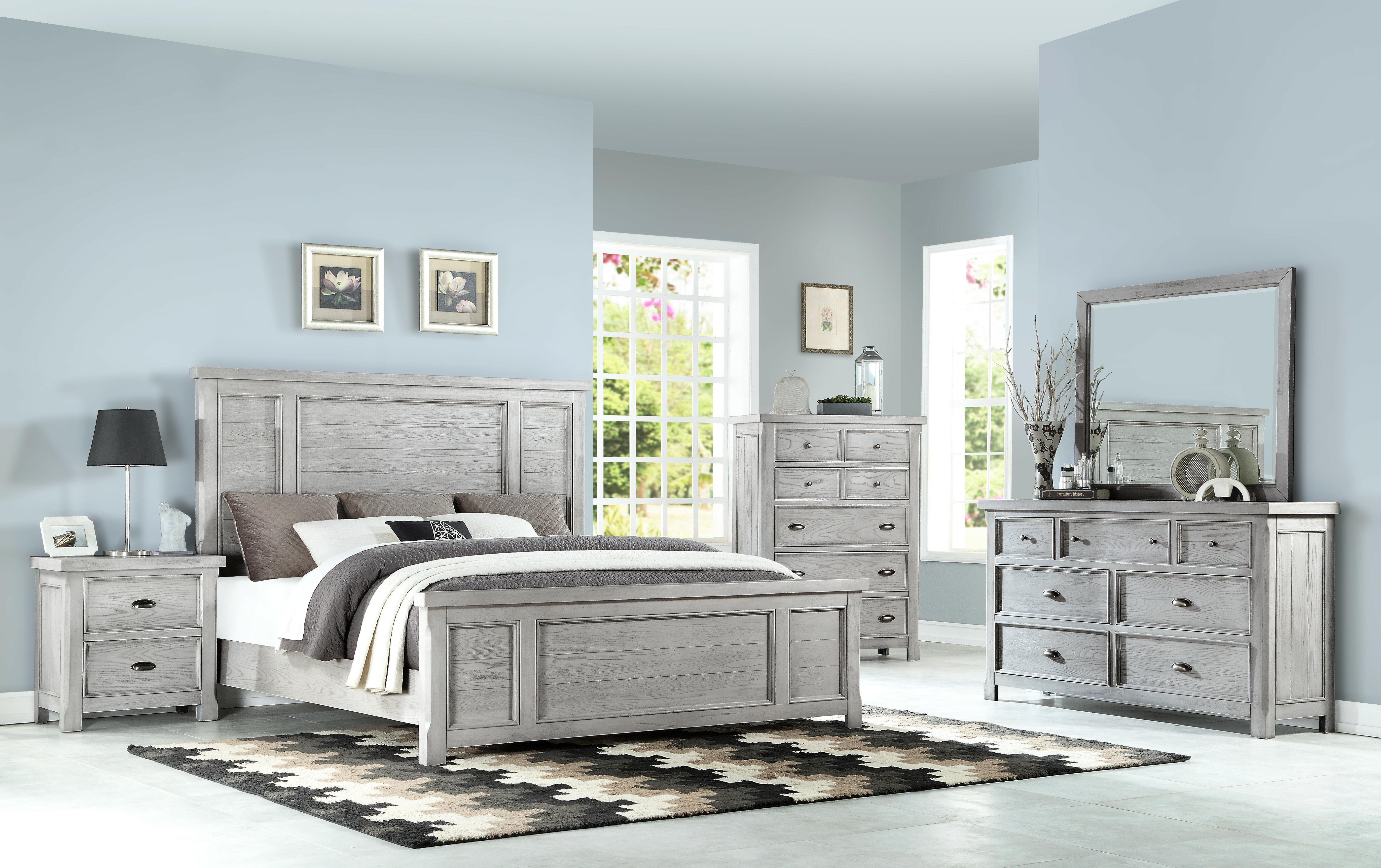 Scheller Standard 10 Piece Configurable Bedroom Set