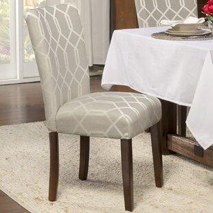 Longshore Tides Feldman Upholstered Parsons Chair (Set of 2)