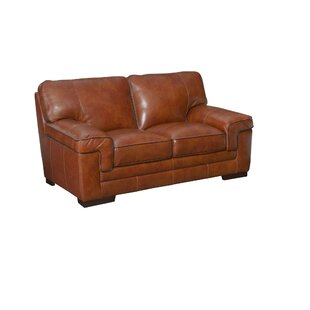 Grand Isle Leather Loveseat