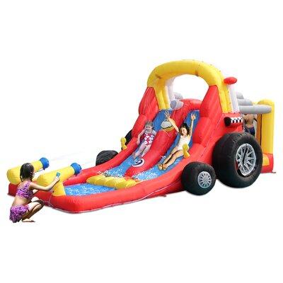 Formula One Double Slide Bounce House Kidwise