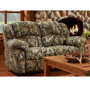 Loon Peak Poteat Double Reclining Loveseat