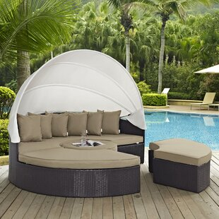 Latitude Run Ryele Daybed with Cushions