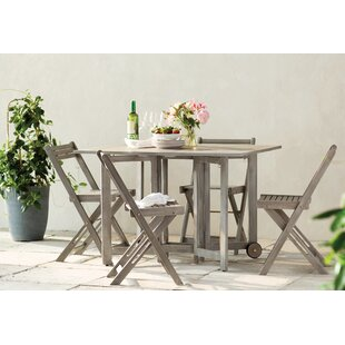 Highland Dunes Laoise Gardens 5 Piece Dining Set