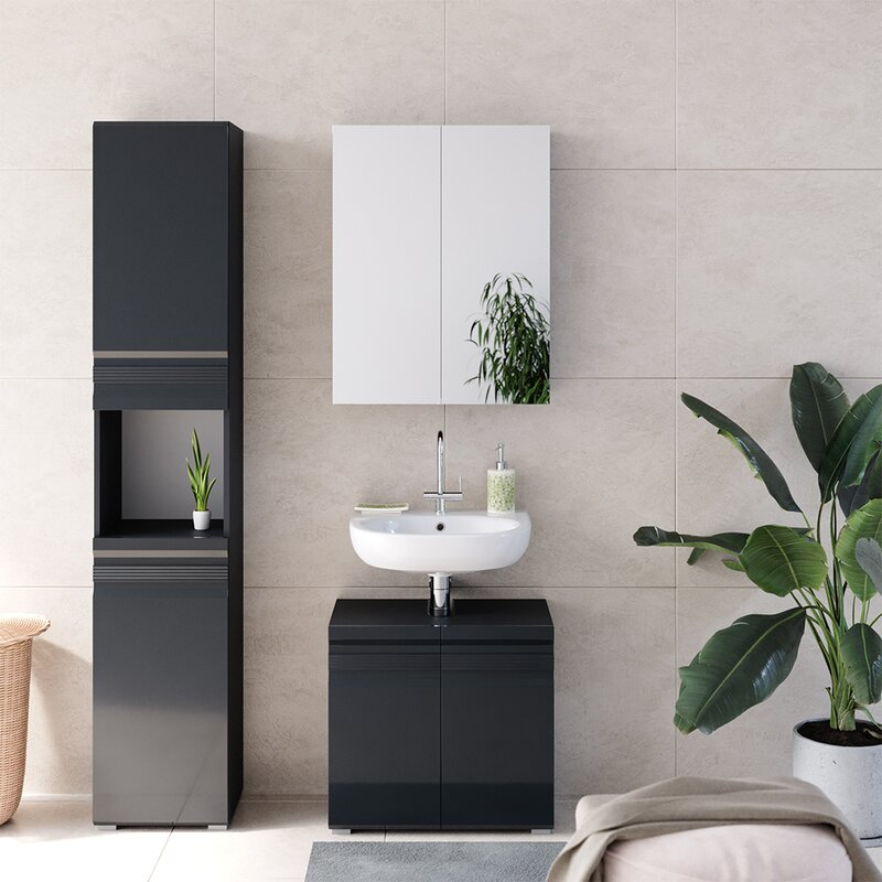 Mair 3 Piece Bathroom Furniture Set