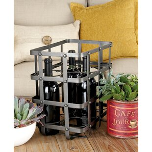 6 Bottle Tabletop Wine Bottle Rack by Col..