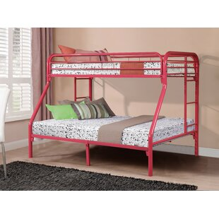 Cloverdale Metal Bunk Bed by Harriet Bee #2