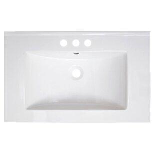 Vee Ceramic 30 Single Bathroom Vanity Top