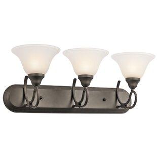 Buy luxury Stafford 3-Light Vanity Light By Kichler