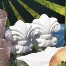 Fleur De Lis Salt and Pepper Set (Set of 2)