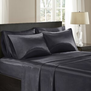 Satin 227 Thread Count 6 Piece Sheet Set