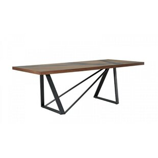 Danny Solid Wood Dining Table by 17 Stories