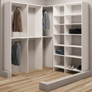 Demure Design 72.25W - 75W Closet System By TidySquares Inc.