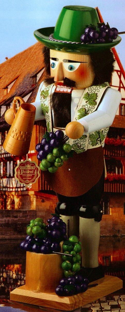 Pinnaclepeak Steinbach Signed Wine Grower German Nutcracker Wayfair