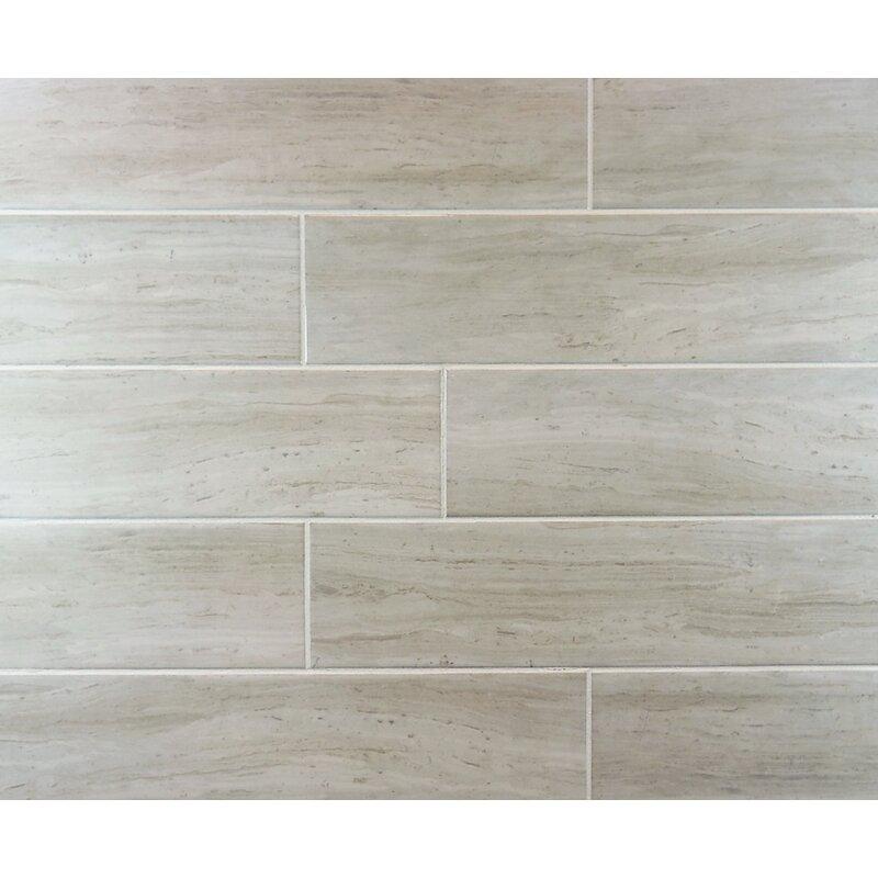 Mulia Tile Classic 3 X 12 Subway Tile In Natural Wayfair